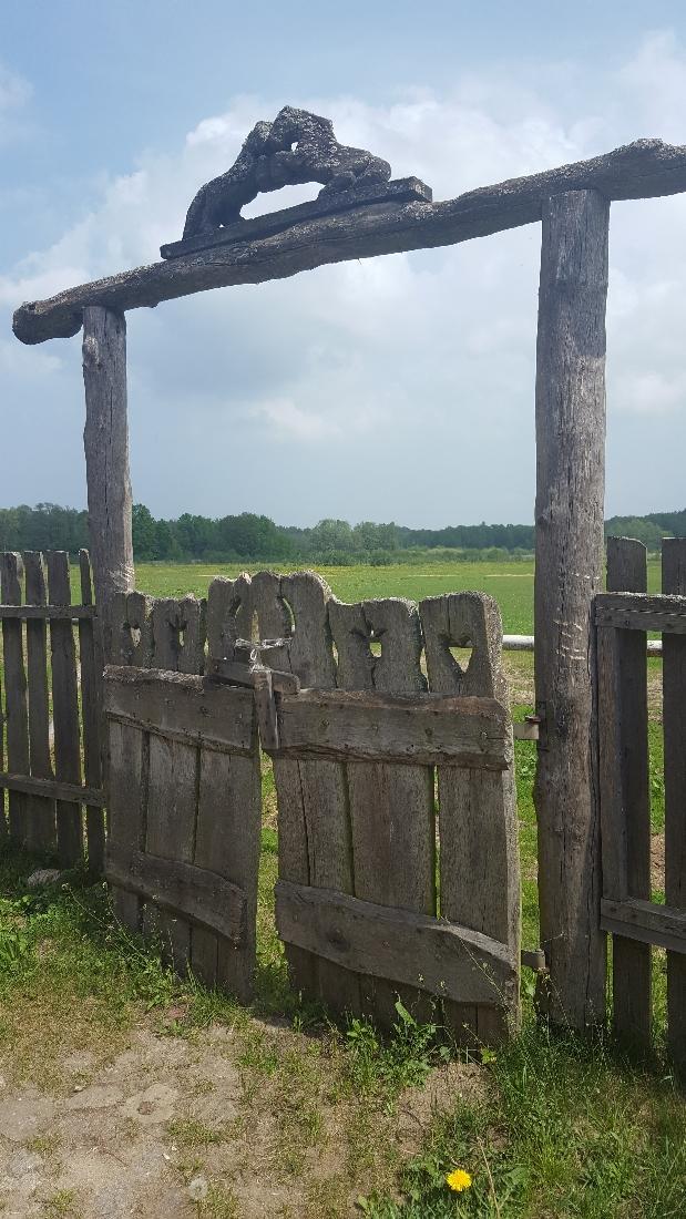 Spacer w Dolinie Charlotty - brama na łąkę